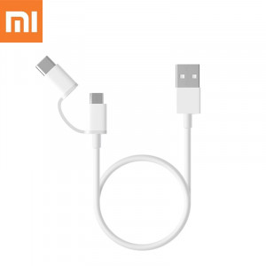 Original XiaoMi 2 in 1 Fast Charger Cable