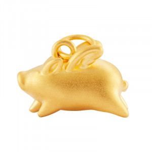 Original XiaoMi Mijia Flying Pig Gold Pendant