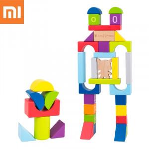 Original XiaoMi Mitu Hape 70pc Puzzle Toy Brick