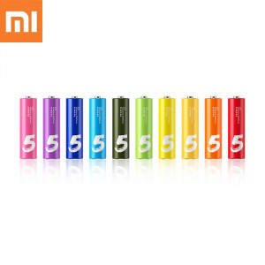 Original XiaoMi Rainbow AA Battery Disposable Batteries Kit