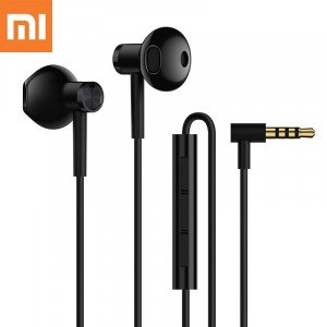 Original XiaoMi Dual-Unit Half In-Ear Earphone