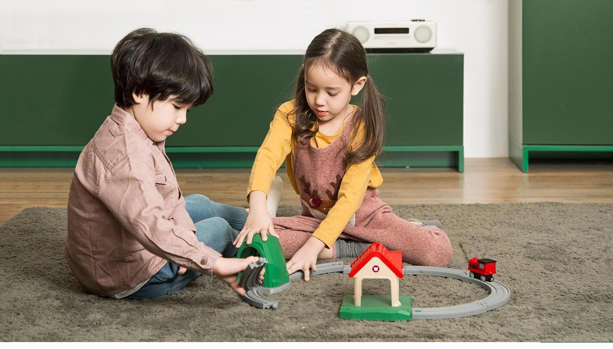 Original XiaoMi Mitu Kids Track Building Blocks